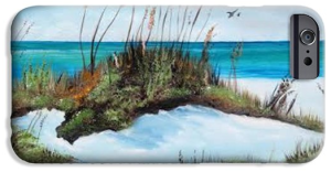Sugar White Beach Cell Phone Case BUY