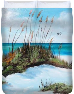 Sugar White Beach Duvet Cover BUY