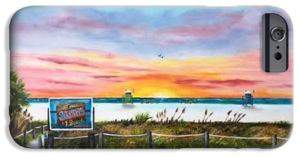 """Sunset At Siesta Key Beach"" Cell Phone Case BUY"