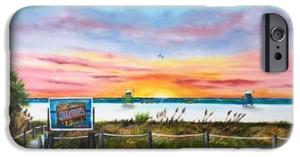 """Sunset At Siesta Key Beach"" Cell Phone Case BUY"