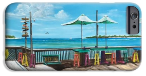"""Sunset Pier Key West"" Cell Phone Case BUY"
