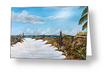 """To The Beach"" Greeting Card BUY"