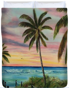 Tropical Paradise Duvet Cover BUY
