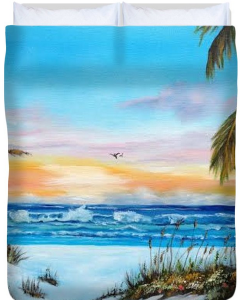 Why Not Siesta Key Duvet Cover