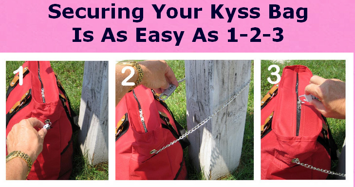 KYSS_BAG_#26_Securing_Your_Bag_Step_1,_2,_3_