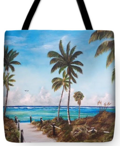 """A Beach Access"" Tote Bag BUY"