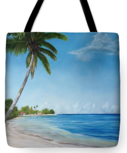 """Another Day In Paradise"" Tote Bag BUY"