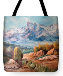 """Colors In The High Desert"" Tote Bag BUY"