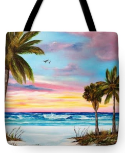 """Colors Of Siesta Key"" Tote Bag BUY"