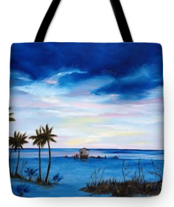 """Colors Of The Gulf"" Tote Bag BUY"