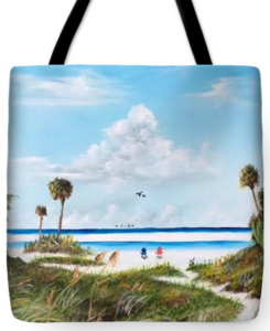 """In Paradise"" Tote Bag BUY"