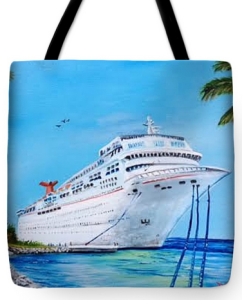 """My Carnival Cruise"" Tote Bag BUY $38"
