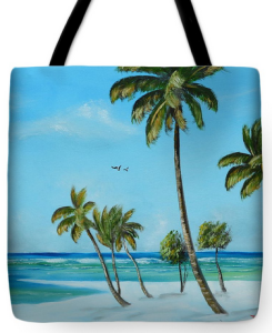 """My Paradise"" Tote Bag BUY"