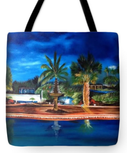 """Our Paradise Retreat"" Tote Bag BUY"