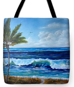 """Our Siesta Key Vacation"" Tote Bag BUY"
