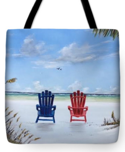 """Our Spot On Siesta Key"" Tote Bag BUY"