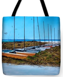 """Siesta Key Access #8 Catamarans"" Tote Bag BUY"
