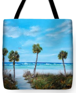"""Siesta Key Beach"" Tote Bag BUY"