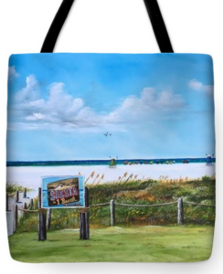 """Siesta Key Public Beach"" Tote Bag BUY"