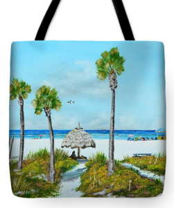 """Sirata Beach Resort Paradise Beach"" Tote Bag BUY"