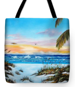 """Why Not Siesta Key"" Tote Bag BUY"