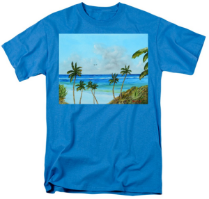 """A Piece Of Paradise"" T-Shirt BUY"