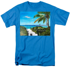 """Access To The Beach"" T-Shirt BUY"