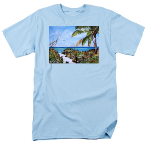 """Access To The Beach"" T Shirt BUY $28"