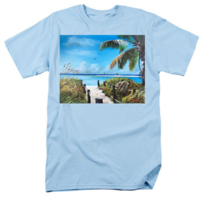 """Beach Time On The Key"" T-Shirt BUY"