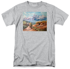 """Colors In The High Desert"" T Shirt BUY $28"