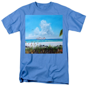 """Destination Paradise"" T-Shirt BUY $28"