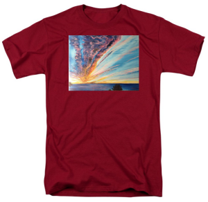 """God's Masterpiece Sunset On Siesta Key"" T Shirt BUY $28"