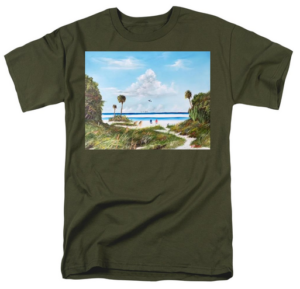 """In Paradise"" T-Shirt BUY"