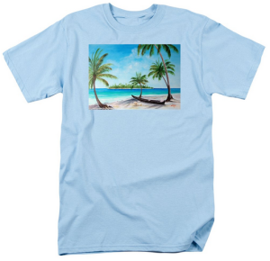 """Kayak On The Beach"" T Shirt BUY $28"