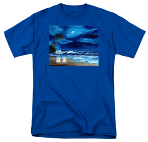 """Let's Watch The Moon Light"" T Shirt BUY $28"