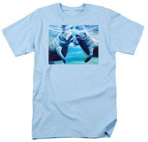 """Manatees Socializing"" T-Shirt BUY"