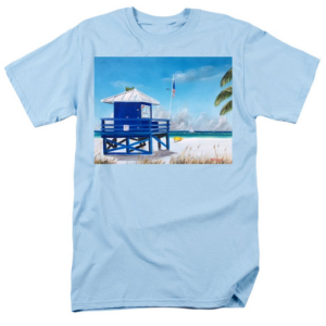 """Meet At Blue Lifeguard"" T-Shirt BUY"