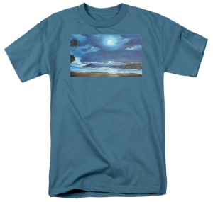 """Moon Light Night In Paradise"" T Shirt BUY $28"