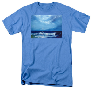 """Moon Light Night Wave"" T Shirt BUY $28"