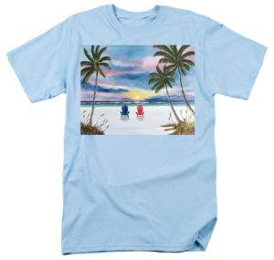 """Our Spot At Sunset"" T-Shirt BUY"