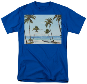 """Paradise Beach"" T-Shirt BUY"