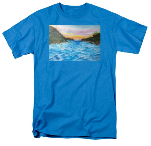 """Path To The Key At Sunset"" T-Shirt BUY $28"