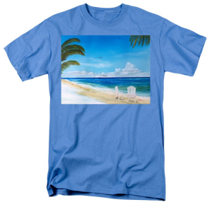 """Relaxing At The Beach"" T-Shirt BUY"