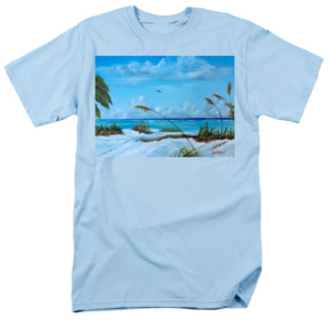 """Sea Grass On The Key"" T-Shirt BUY"