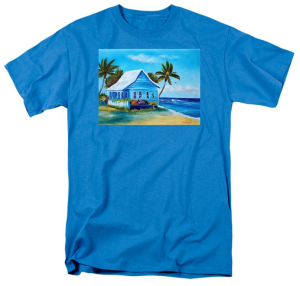 """Shanty In Jamaica"" T Shirt BUY $28"