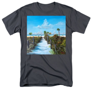 """Siesta Beach Access"" T-Shirt BUY"