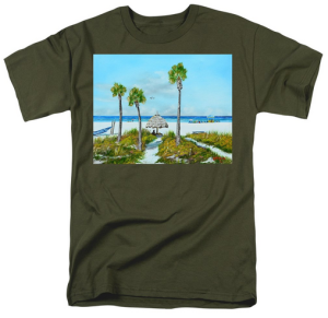 """Sirata Beach Resort Paradise Beach"" T-Shirt BUY"