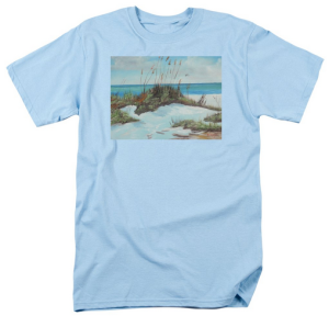 """Sugar White Beach"" T Shirt BUY $28"