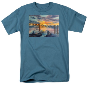 """Sunset At The Yacht Club"" T Shirt BUY $28"