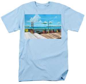 """Sunset Pier Key West"" T-Shirt BUY"